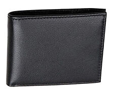 Mens Luxury Quality Leather Wallet Credit Card Holder Purse Black NEW UK #103
