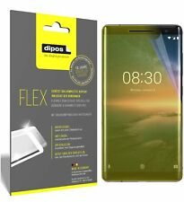 3x Nokia 8 Sirocco Screen Protector Protective Film covers 100% dipos Flex