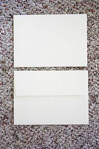 "Wedding Invitation A7 Natural White Mailing Envelopes 5.25""x 7.25"" - FREE SHIP"