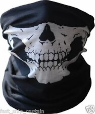 Skeleton Skull Face Mask Neck Warmer Motorcycle Scarf Harley Bandana Hunting