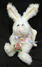 Boyds Bear White Angel Rabbit Bunny Hare Hanging Stuffed Animal Plush Doll