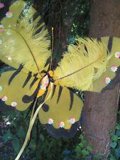 GIALLO Fiore Piuma ali di fata-Festival della barra multifunzione FAE BRIDAL GUAM Indie