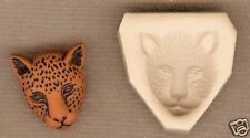Leopard Cat Polymer Clay Push Mold 4 Altered Art