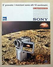 B559-Advertising Pubblicità-1999 - SONY DIGITAL HANDYCAM