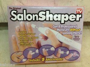 Lot of  15 Salon Shaper 5-in-1 Manicure Pedicure Nail Polishing Trimming Kit art