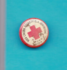 WW1 Red Cross Society South Australia Badge 3/4 Inches Across