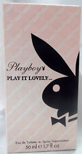 PLAYBOY PLAY BOY PLAY IT LOVELY.. 1.7 OZ / 50 ML EAU DE TOILETTE SPRAY NIB WOMAN