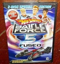 Hot Wheels Battle Force 5 Fused Special Edition (2-DVD, 2009) Free Shipping!