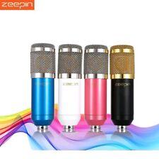 Original Zeepin Bm 800 Condenser Sound Recording Microphone with Shock Mount for