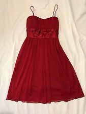 Mr K Red Cocktail Dress Womens Size 10