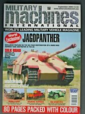 Military Machines International Magazine  - September 2005 Pre Owned!