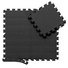 bemaxx Puzzlematte Bodenschutz Matte Schutzmatte Fitnessmatte Unterlegmatte EVA
