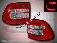 03 04 05 06 PORSCHE CAYENNE RED LENS LED TAIL LIGHTS NEW