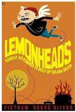 Lemonheads Gig Poster, Solana Beach 2006 (Original Lithograph) 13 x 19' Print