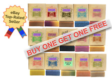 All Natural Handmade Premium Soap Bars  Men & Women - SEE OUR EXCLUSIVE VIDEO