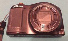 Nikon COOLPIX L620 18.1MP Digital Camera - Black