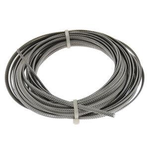 10M Stainless Steel Corset Spiral Boning Metallic Underwear Clothing Sewing DIY