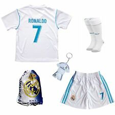 2018 Real Madrid Cristiano Ronaldo CR7 Football Soccer Kids Jersey best gift