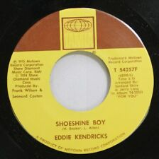 Soul 45 Eddie Kendricks - Shoeshine Boy / Hooked On Your Love On Tamla