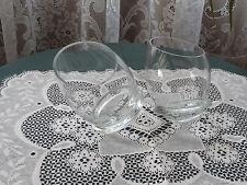 stemless wine glasses, 2