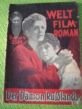 """""""Der Dämon Rußlands"""" Welt-Film-Roman Band 4 mit Filmbildern"""