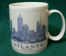 Starbucks Coffee Mug Cup Architect Series Atlanta Hotlanta 2007