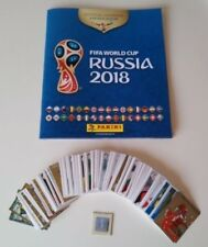 Panini World Cup 2018 Russia World Cup Complete set all 670 Stickers + Scrapbook
