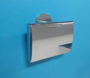 Smedbo Time Toilettenpierhalter mit Deckel YK3414 chrom WC Rollenhalter Halter