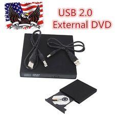 USB2.0 External DVD Combo CD-R/RW CD-ROM/  DVD-ROM Burner Drive for PC Laptop KJ