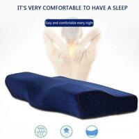 Memory Foam Pillow Neck Massage Ergonomische Kurve Cervical Bed Pillow Cush B5D7