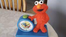 Elmo Musical Alarm Clock Collectable Sesame Street vintage fantasma