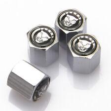 4Pcs For Jaguar Car Auto Wheel Tire Valve Stems Caps Dust Covers Logo