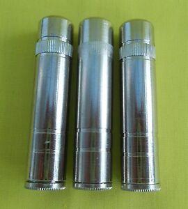 6.3mm INLINE STEREO SOCKETS ALL METAL x 3