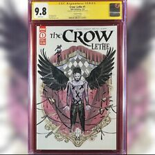 CROW LETHE #1 SECOND PRINTING VARIANT COVER CGC 9.8 SS SIGNED BY PEACH MOMOKO