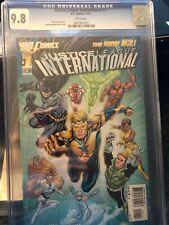 Justice League International - NEW 52 (11/2011) CGC 9.8