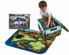 New Dinosaur toys games kids play mat xmas gift fun party dino figures jurassic