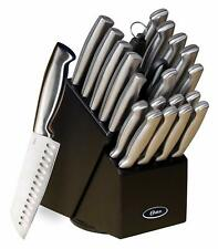 Professional Knife Block Set Chef Kitchen Knives Cutlery Sharp Scissors Fork