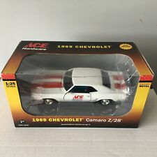 #42  1969 Chevrolet Camaro Z/28 1:25 Scale * First Gear Ace * HB