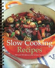Slow Cooking Recipes, Sara Porter, Very Good condition, Book