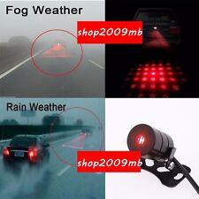 LED Laser Rear Fog Light Anti-Collision Brake Tail Warning Lamp skull For Ford Q