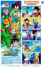 DRAGON BALL Z Anime hero Heroine Series Stamps No.17 kai Dragonball  japanese