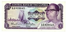 Gambia … P-4g… 1 Dalasis … ND(1971-87) … *VF-XF*  Sign: 8.