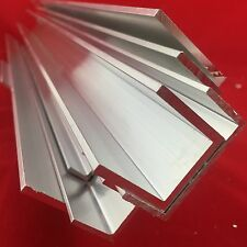Aluminium U channel C profile various sizes