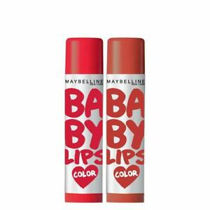 Pack Of 2- Broadway Red, Brooklyn Bronze, 9g From Maybelline New York Baby Lips