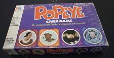 POPEYE THE MOVIE Card Game COMPLETE Robin Williams Vtg 1980 Milton Bradley