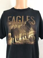 Vintage original Eagles 'Long Road Out Of Eden' Concert Tour T Shirt Size Large