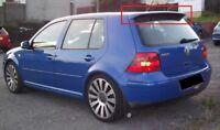 For VW VOLKSWAGEN GOLF 4 MK4 R32 LOOK ROOF SPOILER NEW Wing Tailgate Rear Door
