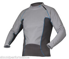Motorcycle Forcefield Tornado Advance Shirt - Grey Blue UK SELLER 5060247827346 Men/uni L