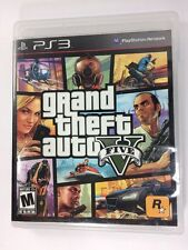 Grand Theft Auto V Sony PlayStation 3 GTA5 Includes Map & Instructions