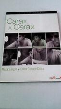 "DVD ""MALA SANGRE / CHICO CONOCE CHICA"" 2 DVD DIGIPACK CARAX X CARAX COMO NUEVO"